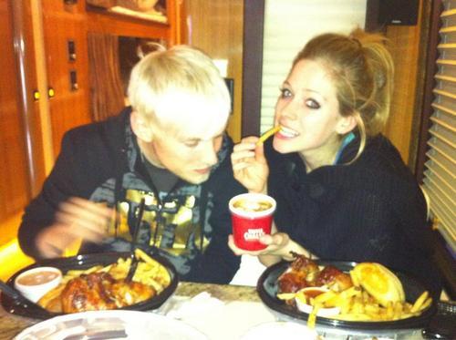 Avril & Evan - Facebook