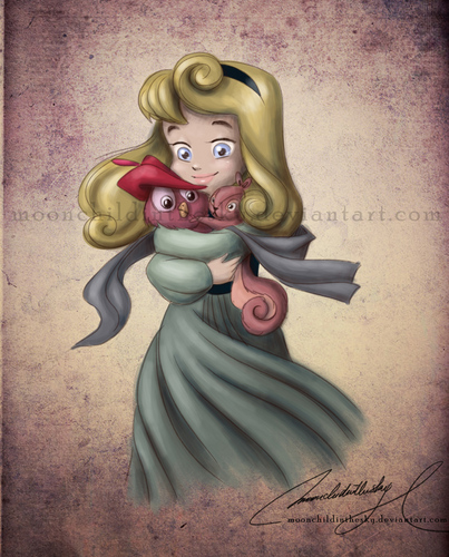 BABY AURORA - walt-disney-characters Fan Art