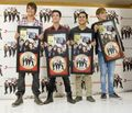 BTR'S ALBUM GOES GOLD MEXICO