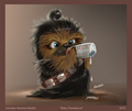 Baby Chewie - star-wars photo