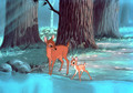Bambi and his mother - disney-parents screencap
