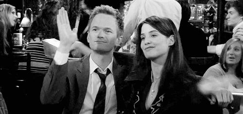 Barney and Robin ♥