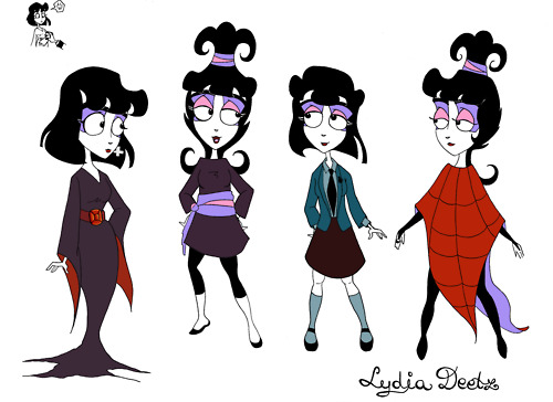 Beetlejuice The Animated Series Images Lydia Wallpaper And