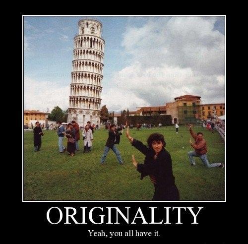 Being original is too mainstream.