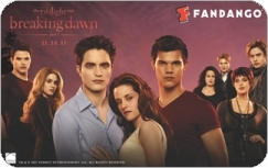 Breaking Dawn The Movie wallpaper containing anime entitled Breaking Dawn Gift Cards