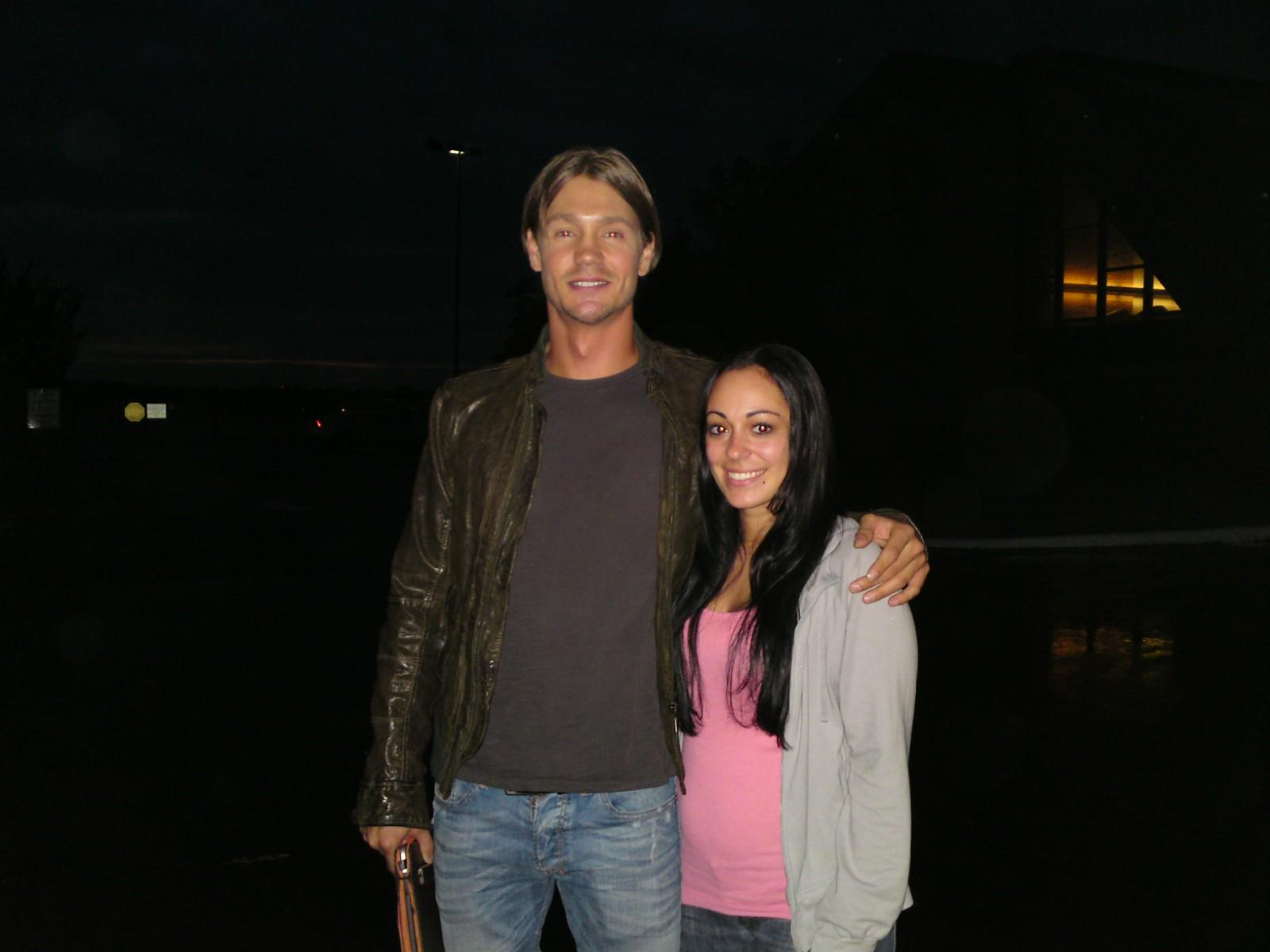 Chad Michael Murray On the set Of One Treehill Season9 - chad-michael-murray photo