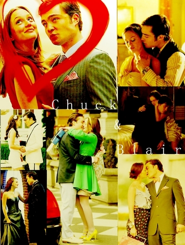 Blair & Chuck wallpaper entitled Chuck & Blair ♥