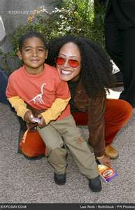 Cree and her son