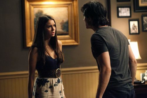 Damon and Elena - Disturbing Behaviour HQ Still (3x04)