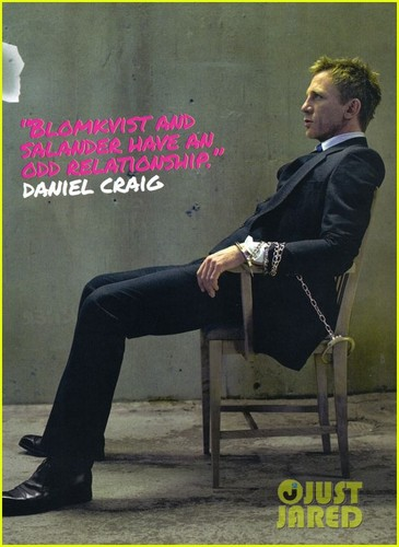 Daniel Craig & Rooney Mara Cover 'Empire' November 2011
