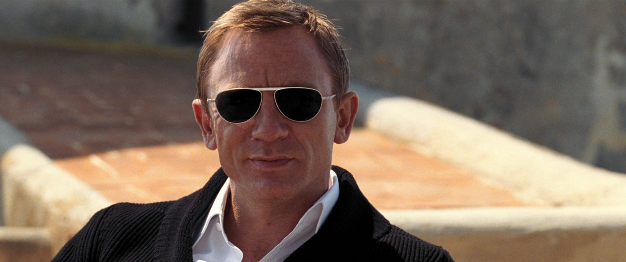 Daniel Craig on Quantum Of Solace♥