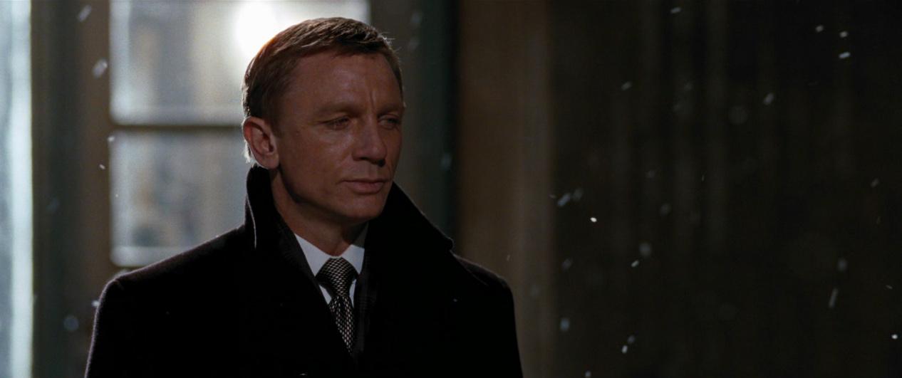 Daniel Craig on Quantum Of Solace♥
