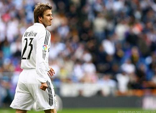 David Beckham Real Madrid