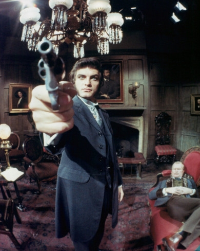 David Selby and Louis Edmonds