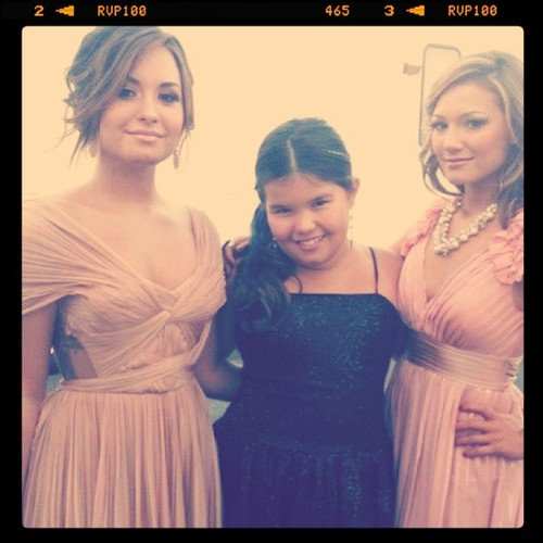 Demi, Madison and Dallas
