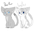 Dovepaw and Ivypaw