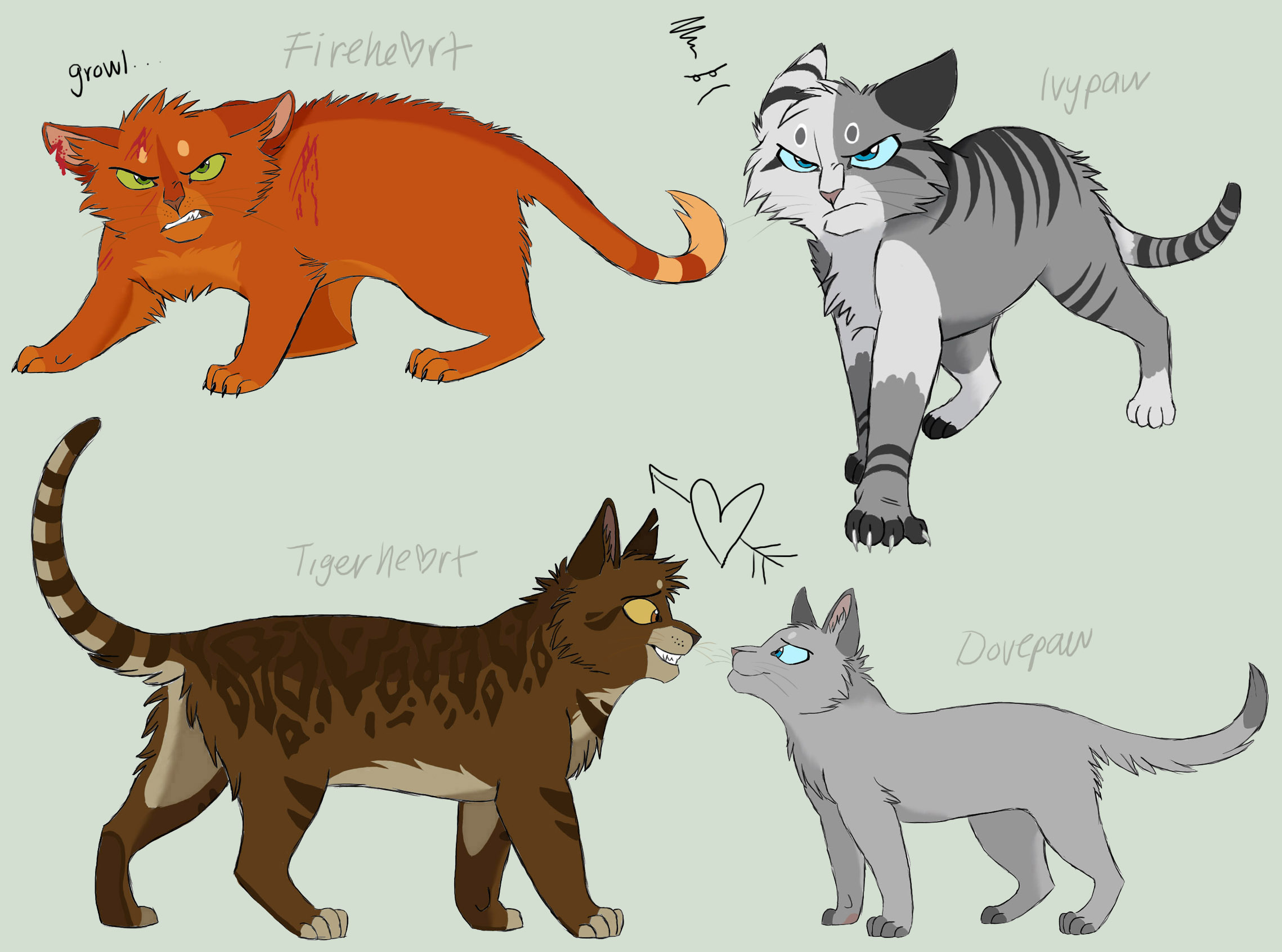 WARRIOR CATS Images Dovepaw And Ivypaw HD Wallpaper And