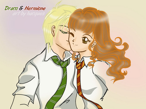 Draco and Hermione &lt;3 - harry-potter-combinations Photo