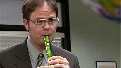 Dwight and his recorder