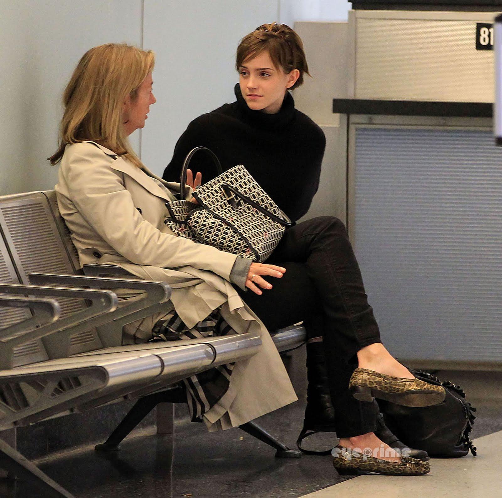 Emma Watson is back in London [October 3]