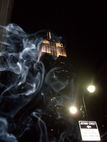 Empire State Building 의해 night