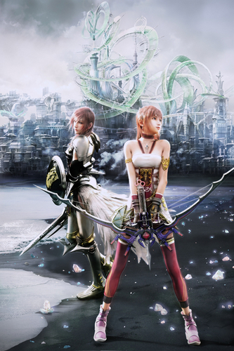 Final Fantasy XIII 2 Lightning Artwork