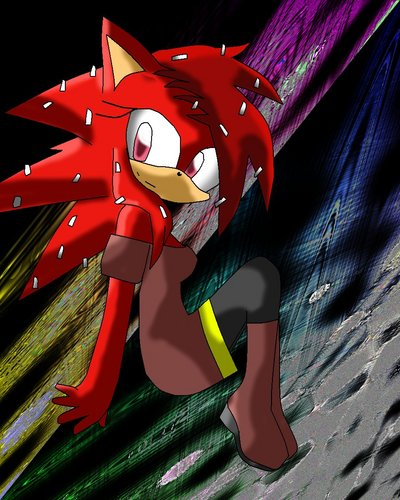 Flaky From HTF In Sonic Form
