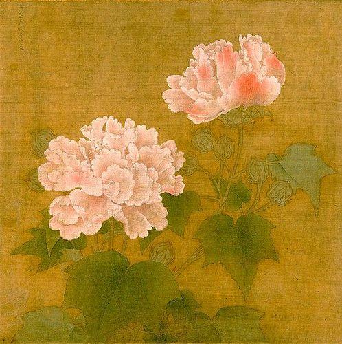 फूल in Art