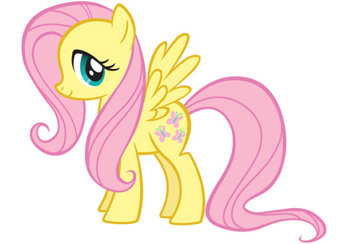 My Little Pony Friendship is Magic wallpaper possibly containing anime called Fluttershy
