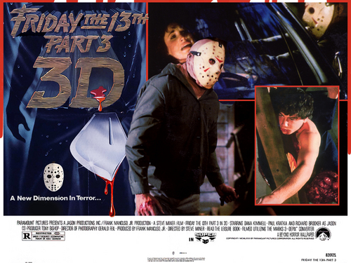 Friday the 13th Part 3 Lobby Card