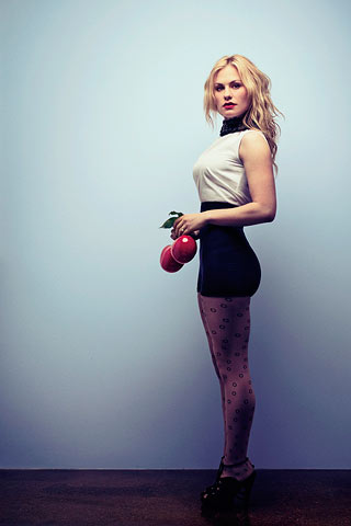 Anna Paquin wallpaper containing tights titled GQ magazine photoshoot