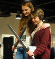 Sophie Turner & Maisie Williams @ TitanCon - game-of-thrones photo
