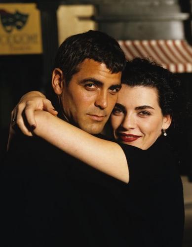 George and Julianna Tv Guide Magazine fotografia