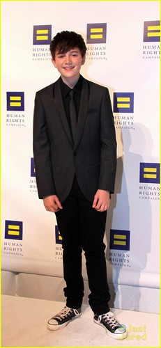 Greyson Chance: Human Rights Campaign cena 2011
