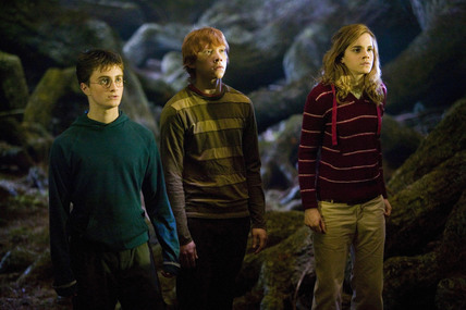 Hermione and Ron 壁纸 called HP