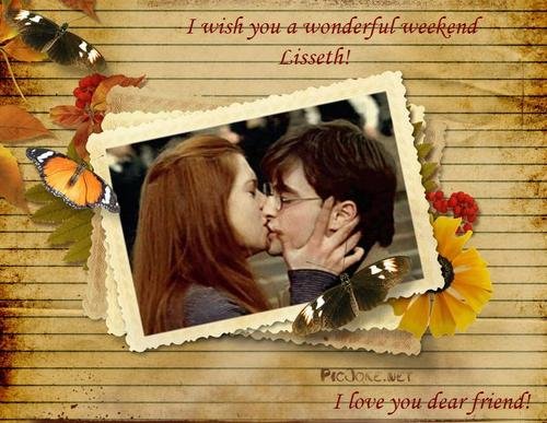 Harry and Ginny-For a special friend!
