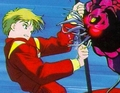 Haruka Attacking - sailor-uranus-and-sailor-neptune screencap