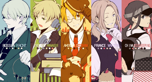 hetalia fondo de pantalla probably with anime titled hetalia Hotel!