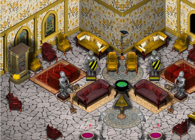 Hufflepuff Common Room images Hufflepuff Common Room according to ...