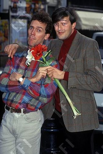 Hugh Laurie and Stephen Fry