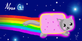 I drew the Nyan cat! ^^