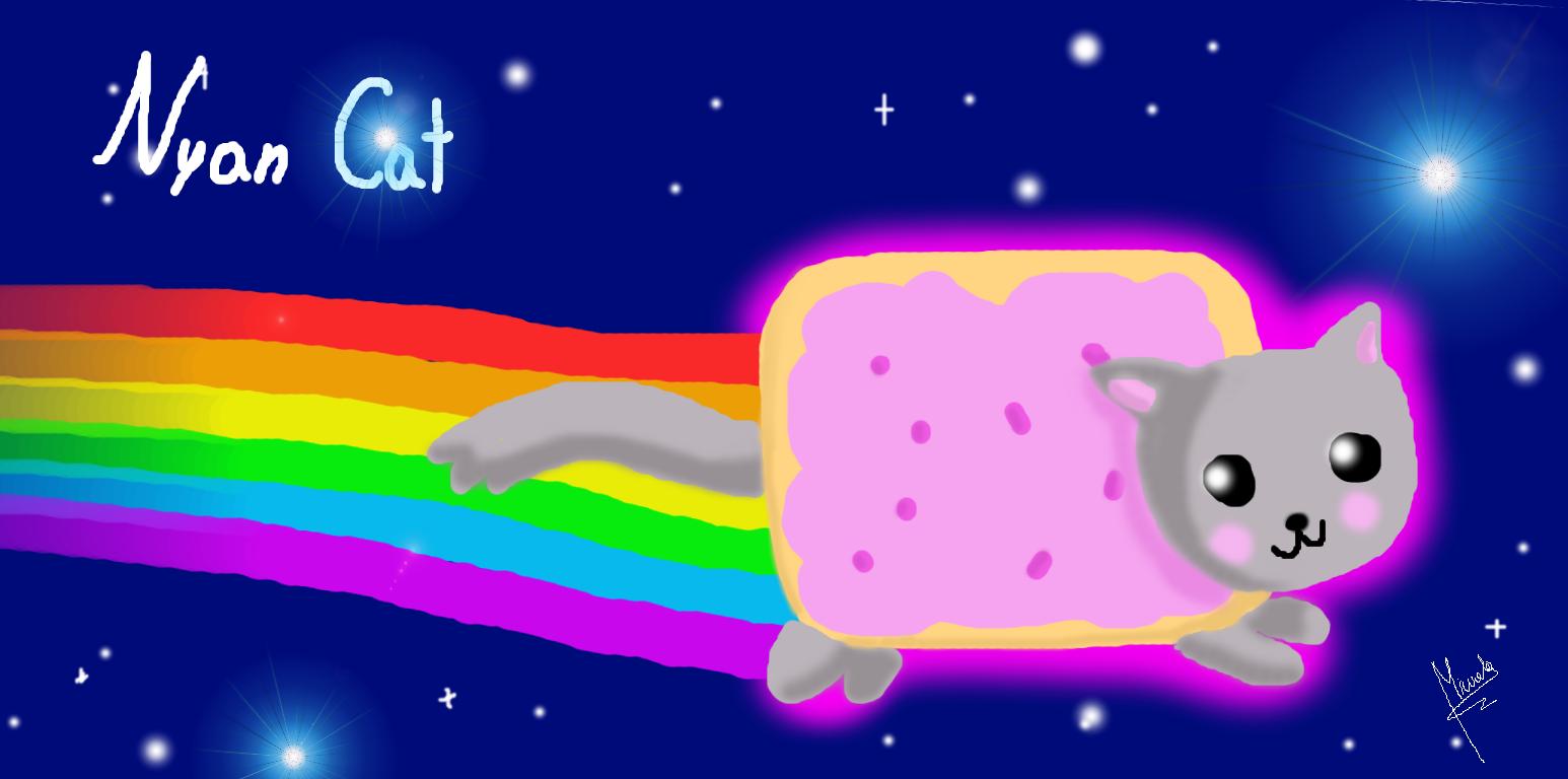Nyan Cat Birthday Cake