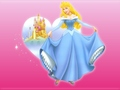 IN BLUE DRESS - sleeping-beauty wallpaper