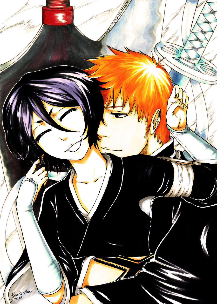 ichigo and rukia - photo #44