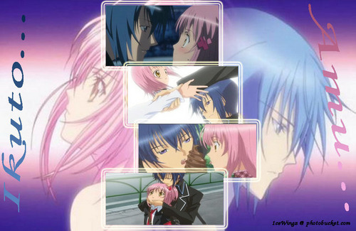 Ikuto Tsukiyomi wallpaper with anime entitled Ikuto and Amu