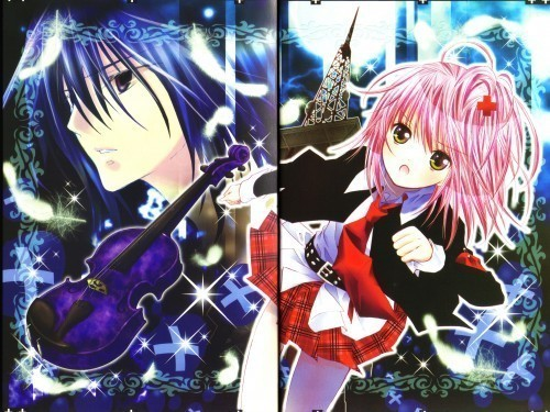 Ikuto Tsukiyomi wallpaper entitled Ikuto and Amu