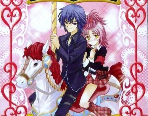 Ikuto and Amu - ikuto-tsukiyomi Fan Art