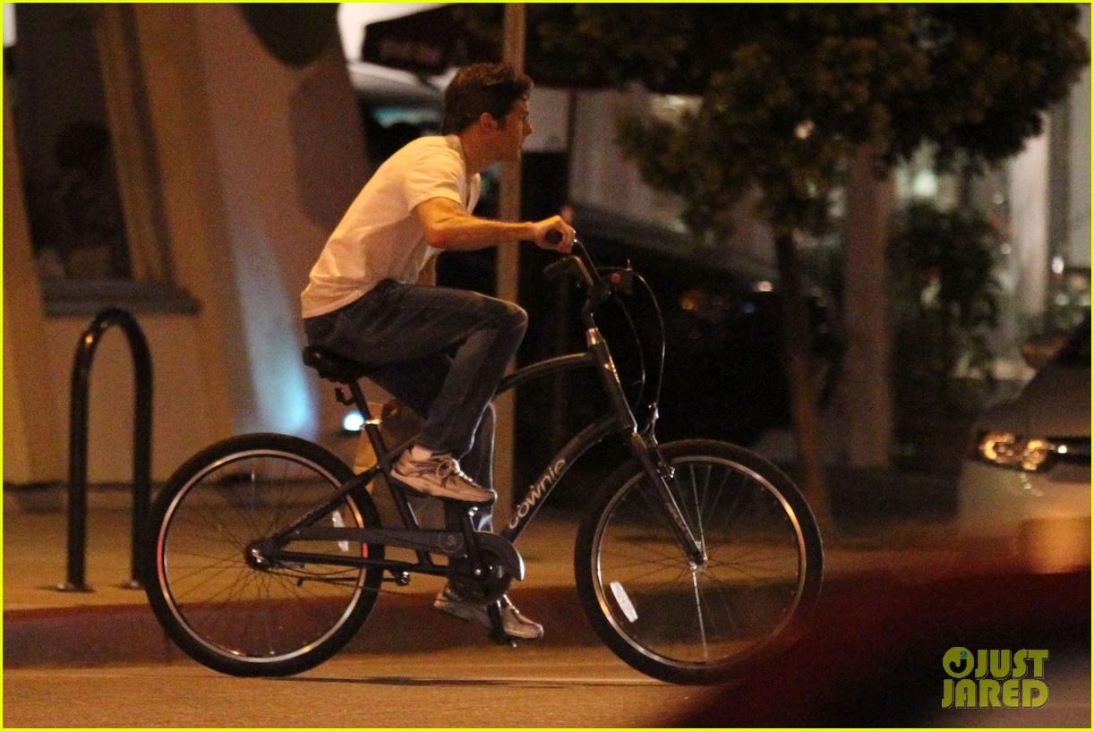 James Marsden: Solo Bike Ride Following Split