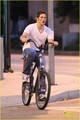 James Marsden: Solo Bike Ride Following Split