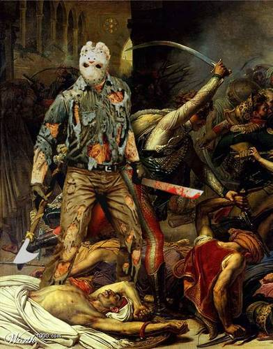 Jason Voorhees in Battle